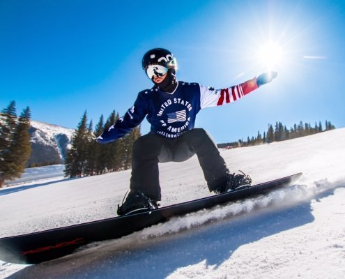 Paralympic Snowboarder James Sides