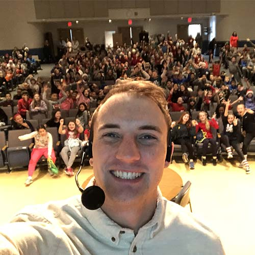 motivational speaker students